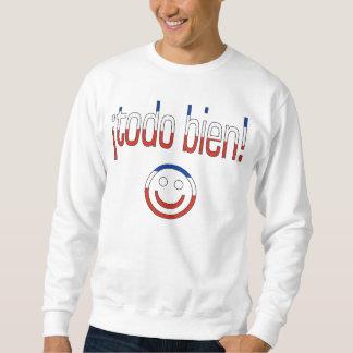 ¡ Todo Bien! Chile-Flaggen-Farben Sweatshirt