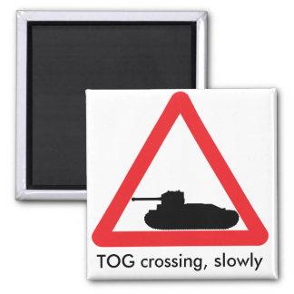 TOG-Überfahrt-Kühlschrankmagnet Quadratischer Magnet