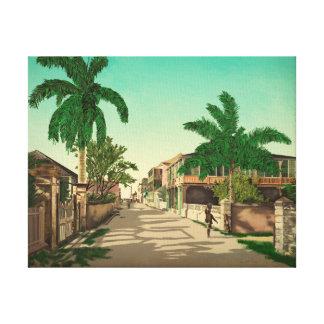 Toile Beaux-arts de Nassau, Bahamas