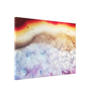 Toile Cristal abstrait