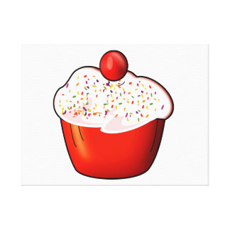 Toile Cupcake art