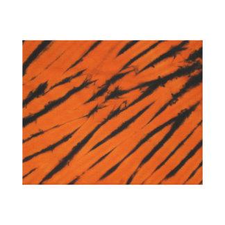 Toile enveloppée par colorant de cravate de rayure toiles tendues