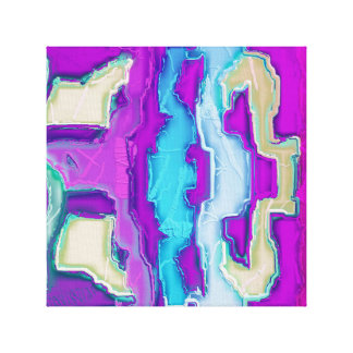 Toile ~ fou d'art abstrait de ~ de ~ moderne de
