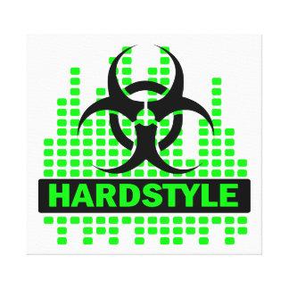 Toile impressionnante de biohazard de Hardstyle Toiles