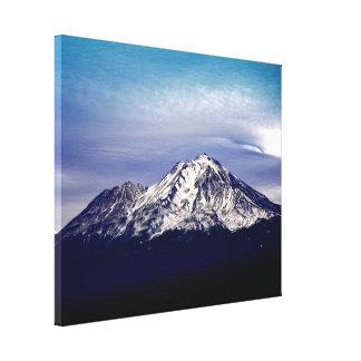 Toile Le beau Mt. majestueux Shasta