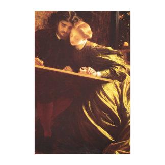 Toile Les beaux-arts de Fredric Leighton de la lune de