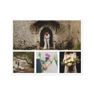 Toile Minimaliste moderne de photo des couples quatre de