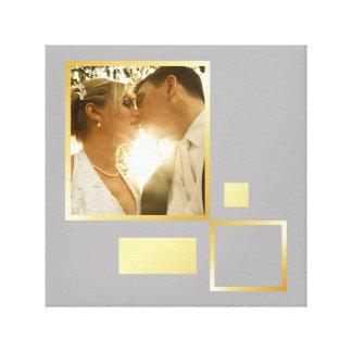 Toile modèle photo fait sur commande de mariage,