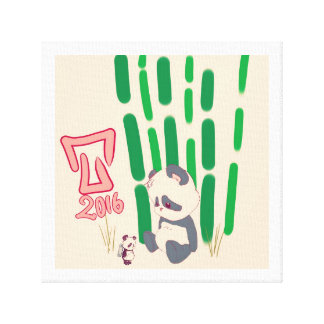 Toile Toy panda