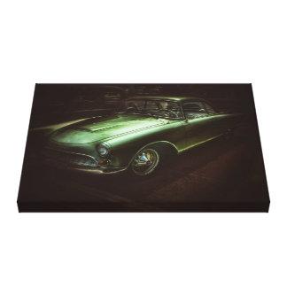toile vintage de voiture