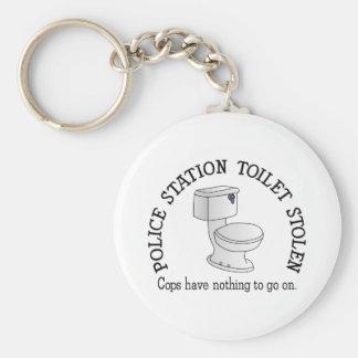 Toilette gestohlen schlüsselanhänger