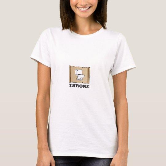 Toiletten-Thronspaß T-Shirt