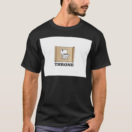 Toiletten-Thronspaß T-Shirt