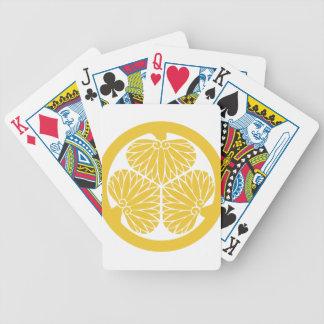 Tokugawa Clan-Montag-Wappen Pokerkarten