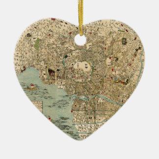tokyo1854 keramik Herz-Ornament