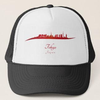 Tokyo skyline im Netz Truckerkappe