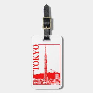 Tokyo - SkyTree Gepäckanhänger