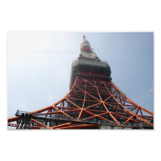 Tokyo-Turmnahaufnahme Kunst Fotos