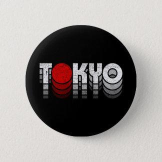 Tokyo Vintag (東京 T シャツ) Runder Button 5,1 Cm