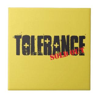 Toleranz ausverkauft fliese