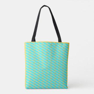 Tolle Blau- und Goldmuster-Taschentasche Tasche