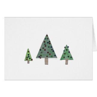 Tolle kleine Bäume 2 Karte