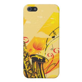 Tolle Saxo Strahlen von Musik iPhone 5 Etuis