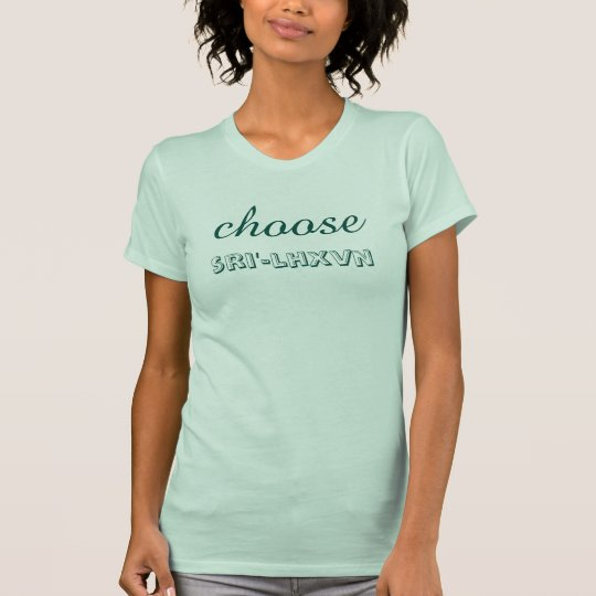 """Tolowa Dee-ni """"wählen glückliches """" T-Shirt"""
