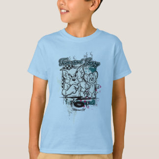 Tom und Jerry Hollywood CA T-Shirt
