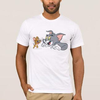 Tom und Jerry machen Gesichter T-Shirt
