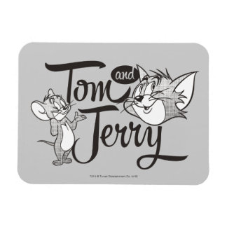 Tom und Jerry | Tom und Jerry, der süß schaut Magnet