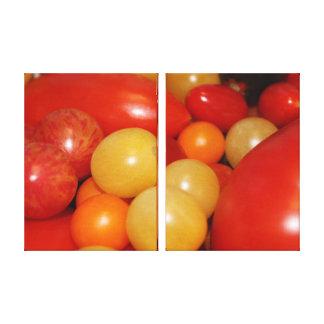 Tomate-Schönheit Leinwanddruck