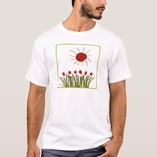 Tomate-Sonnenschein T-Shirt