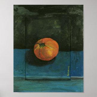 Tomate-Stillleben-Malerei Poster