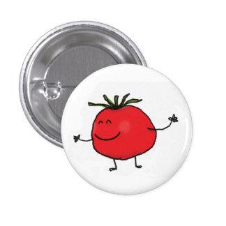 Tomateknopf Runder Button 2,5 Cm