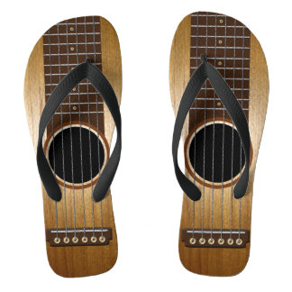 Tongs Guitare faite sur commande