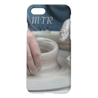 Tonwaren-Rad-Monogramm-Telefon-Kasten iPhone 7 Hülle