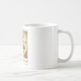 Tony Abbott - wütend als Hutmacher Kaffeetasse
