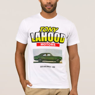 Tony Lahood fährt T-Shirt