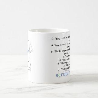 Top 10 sagen Sachekrankenschwestern in ihrem Kaffeetasse