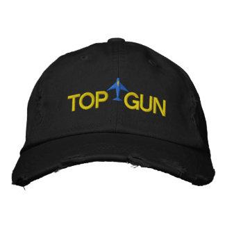 Top Gun a brodé le chapeau Casquette De Baseball Brodée