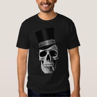 Top hat skull t shirts