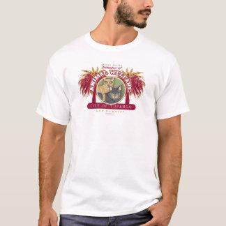 Topanga Miezekatze durch Robyn Feeley T-Shirt