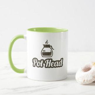 Topf-Hauptkaffee-Tasse Tasse