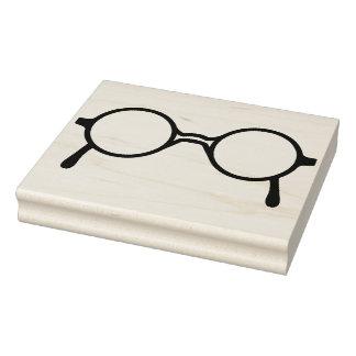 Töpfer-Ähnliche Brillen-Gummikunst-Briefmarke Gummistempel