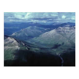 Tore des arktischen Nationalparks Postkarte