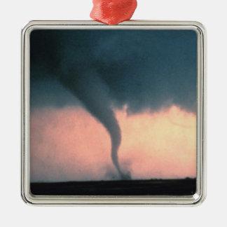 Tornado Silbernes Ornament