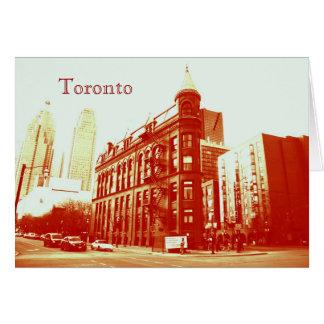 Toronto flatiron Gebäude Karte
