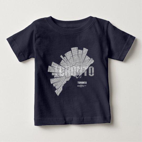 Toronto-Karte Baby T-shirt