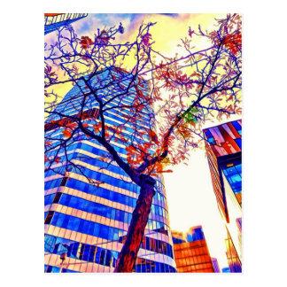 Toronto-Stadt Skyscape durch Shawna Mac Postkarte